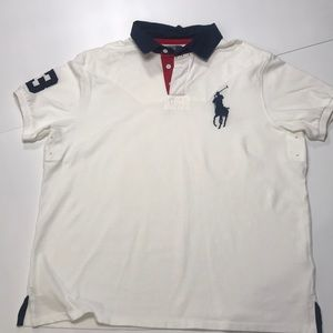 Ralph Lauren Large Logo Polo Shirt NWOT
